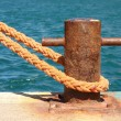 Boat mooring — Stock Photo #23340974