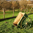 Cart or wheelbarrow — Stockfoto