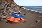 Pequeñas embarcaciones — Foto de Stock