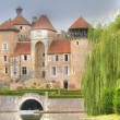 Sercy Castle, France — Stock Photo