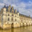 Loire Valley castle — Stock Photo