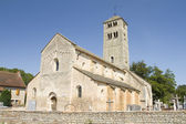 Church of Chapaize, France — Stock Photo