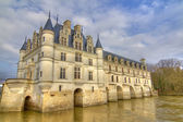 Loire Valley castle — Stock Photo