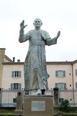 Statue of Pope John Paul II — Stock Photo