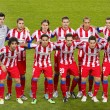 Atletico de Madrid team — Stock Photo