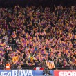 FC Barcelona supporters — Stock Photo