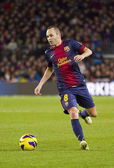 Andres Iniesta — Stock Photo