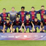 Постер, плакат: FC Barcelona team 2013