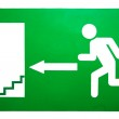Emergency exit sign — Stock Photo #23655033