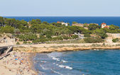 Beach of Tarragona — Stock Photo