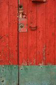 Porta e serratura. — Foto Stock