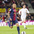 Dani Alves of FC Barcelona — Stock Photo