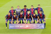 FC Barcelona players — Stock Photo