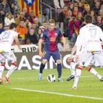 Постер, плакат: Gerard Deulofeu of FC Barcelona