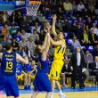 Basketball match Barcelona vs Maccabi — Stock Photo