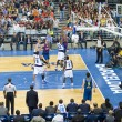 Basketball match Barcelona vs Dallas — 图库照片