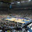 Stock Photo: Basketball match Barcelonvs Dallas