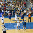 Barcelona vs Dallas Mavericks — Stock Photo