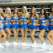 Dallas cheerleaders — Stock Photo