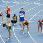 Tired athletes — Stock Photo #24754237