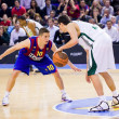 Barcelona vs Panathinaikos — Stock Photo