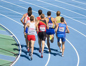 800 m athletics race — Stock Photo
