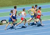 800 m athletics race — 图库照片