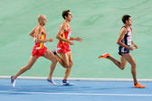 Athletics 1500 m — Stock Photo