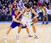 Barcelona vs Panathinaikos — Stock Photo