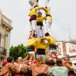 Human tower — Foto de Stock
