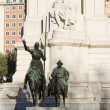 Don Quixote and Sancho Panzstatue — Stock Photo #24792537