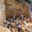Atapuerca fossil site - Stock Photo