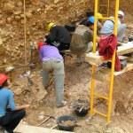 Atapuerca fossil site — Stock Photo