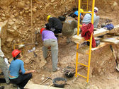 Atapuerca fossil site — Stock Photo