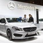 Mercedes Benz CLA — Stock Photo #25463287