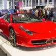 Ferrari 458 Spider - Stock Photo