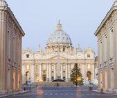 梵蒂冈大教堂 — 图库照片
