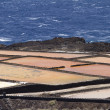 Stock Photo: Salt pans