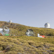Astronomical observatory Roque de los Muchachos — Stock Photo