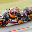Marc Marquez racing at the race of Moto2 Grand Prix of Catalunya — Stock Photo