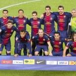 Постер, плакат: FC Barcelona team