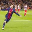 Stock Photo: Lionel Messi celebrating goal