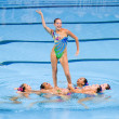 Synchronized swimming — Stock Photo #28894453
