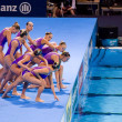 Synchronized swimming — Stock Photo #28896075