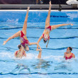Synchronized swimming — Stock Photo #28898827