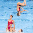Synchronized swimming — Stock Photo #28899977
