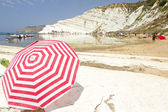 Beach Scala dei Turchi, Italy — Stock Photo