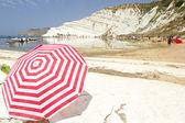 Beach Scala dei Turchi, Italy — Stock Photo