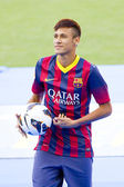 Neymar, FC Barcelona player — Stock Photo