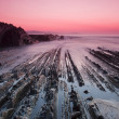 Zumaia beach — Stock Photo